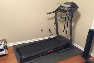 low profile treadmill
