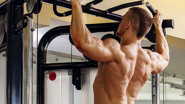 how to do pull ups correctly on the squat rack with bar