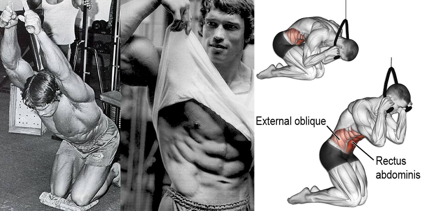 benefit of cable crunches - building abs