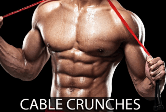 cable crunches to build a strong core abs