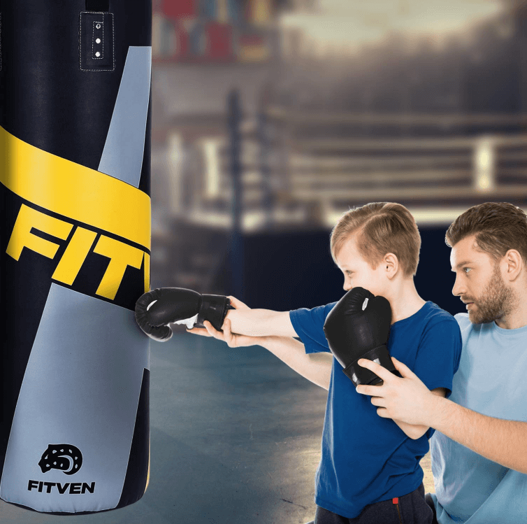 FITVEN Punching Bag - Best Hanging Heavy Bags for Kids