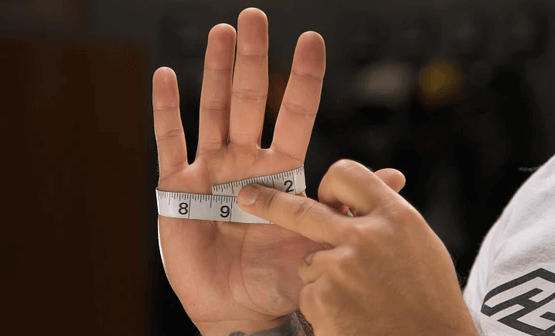 How to Measure Your Hand Circumference
