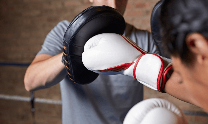 comparing training gloves to bag gloves