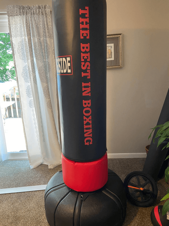 An overview of the Ringside Elite Free-Standing Heavy Bag Review