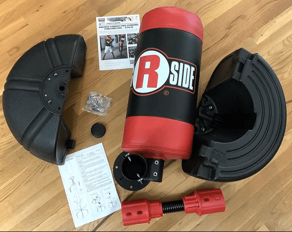 Free-Standing Heavy Bags are easy to install and this is a great advantage of them