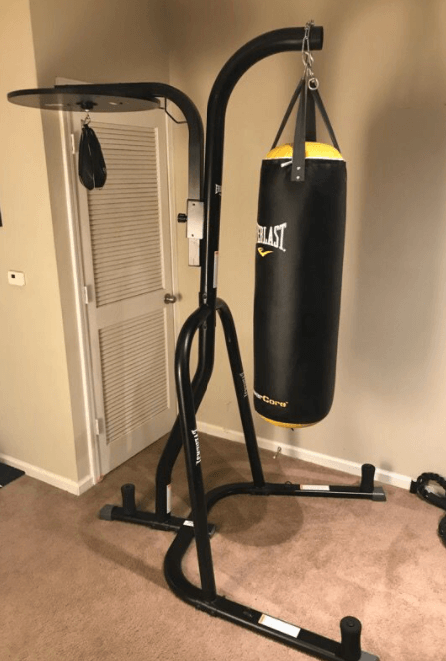 best heavy bag stand with speed bag for apartments