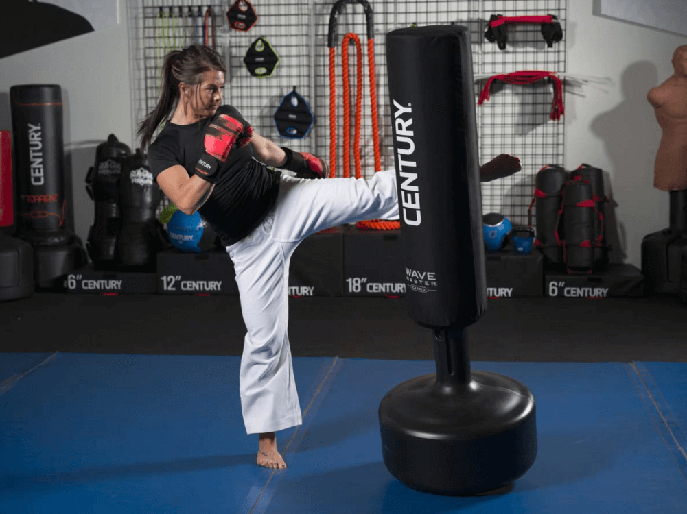 the Century Cardio Wavemaster is Great for Boxing, Kickboxing, MMA and Other Fighting Sports