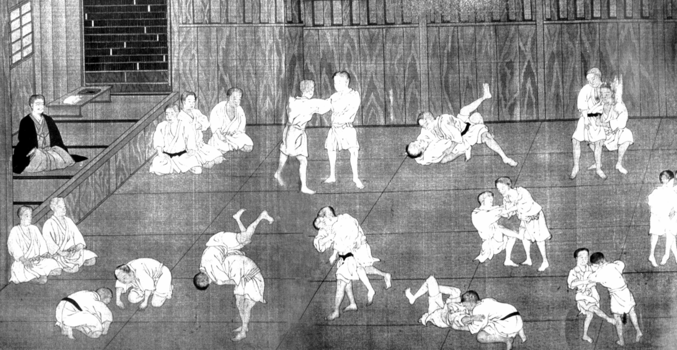 Jiu-Jitsu's Origins go as far back as 1000 AD and was used by Samurai Warriors