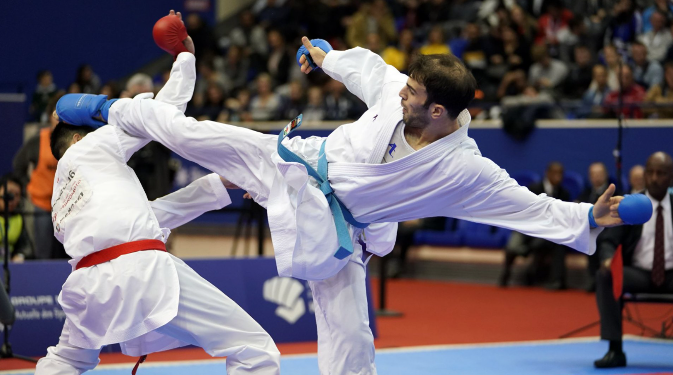 Karate is a fighting sport that goes into the MMA makeup
