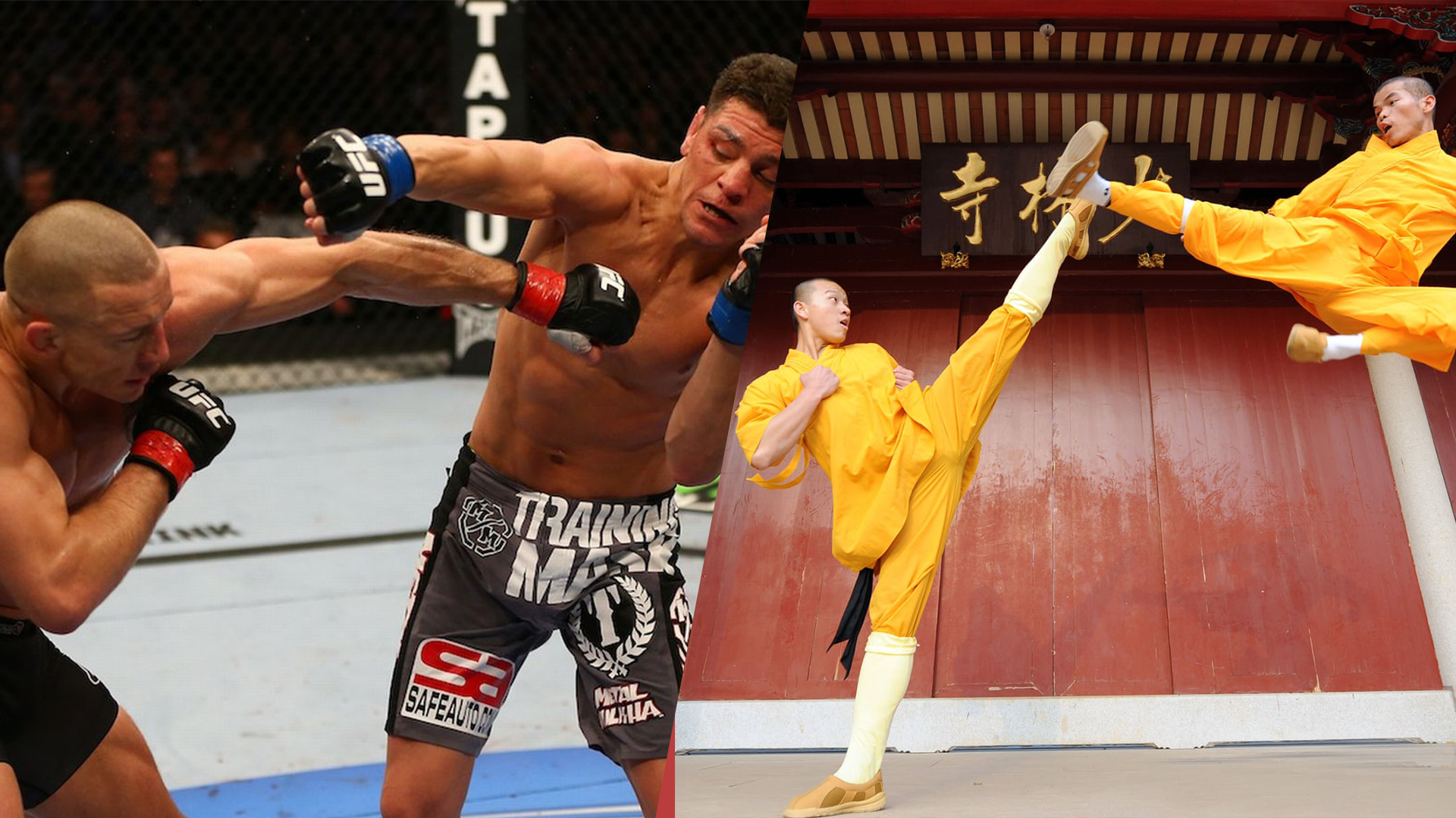 MMA vs Kung Fu, how do they both compare
